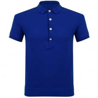 Versus Versace Lion head Blue Polo Shirt BU90207