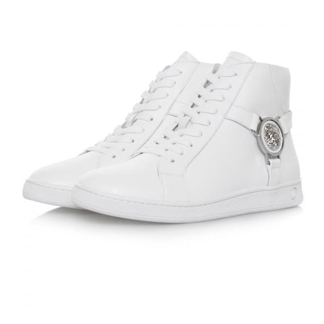 Versus Versace Lionshead Hi Top White Shoe FSX006C