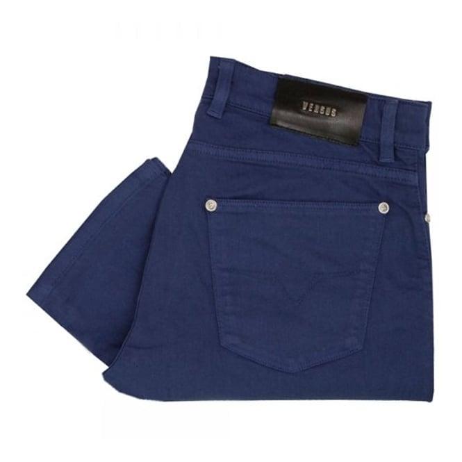 Versus Versace Royal Blue Denim Jeans BU40213
