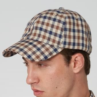 Vicuna Abbott Club Check Cap