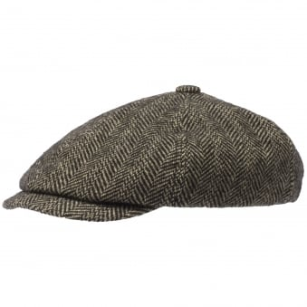 Virgin Wool 6-Panel Flat Cap