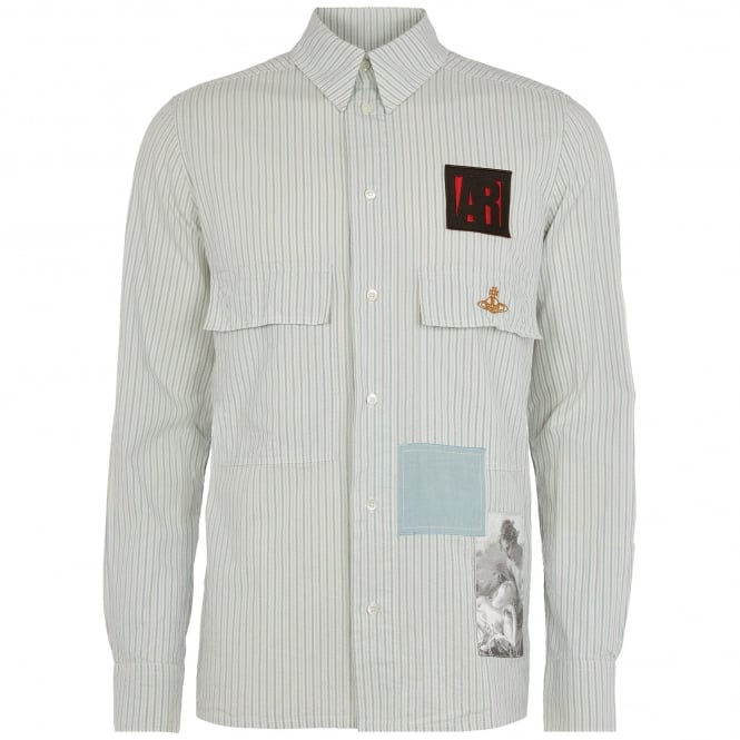 Vivienne Westwood Anglomania Grey Berry Shirt 2502J130314