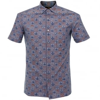 Vivienne Westwood Bob Blue Navy Shirt 59288517