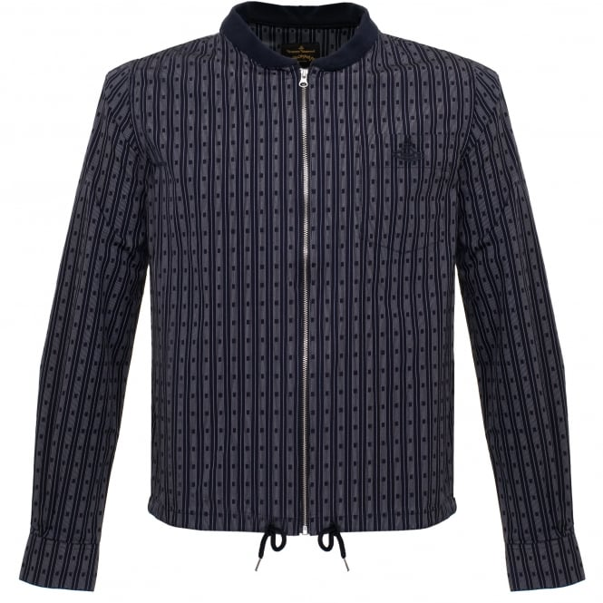 Vivienne Westwood Anglomania Vivienne Westwood Bomber Navy Shirt Jacket 62288517