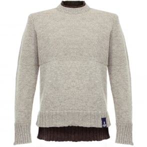 Vivienne Westwood Double Collar Neutral Jumper 62288511