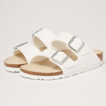 White Arizona Sandals