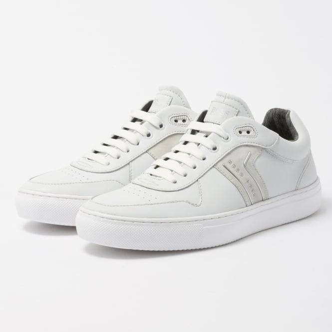 Boss Green White Enlight Tenn Trainers