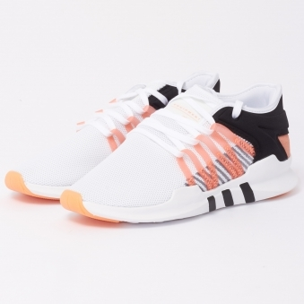 Womens EQT ADV Racing - White & Coral