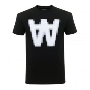 Wood Wood AA Pix Black T-Shirt 11635717-2080