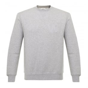 Wood Wood Houston Grey Melange Sweatshirt 10005602-2066
