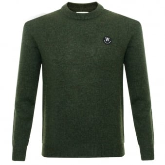 Wood Wood Yale Jet Wool Jumper 11635505-4006