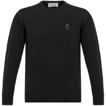 Yale Black Archway Long Sleeve Jumper