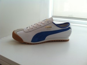 Puma Roma - White/Blue