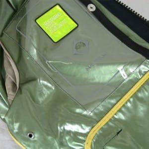 Inside of ljacket - Map pocket