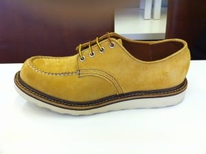 Red Wing Wheat Suede upper shoe