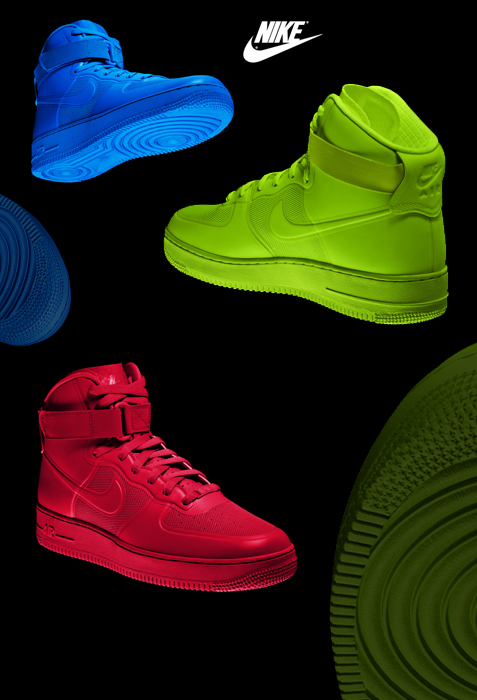 Nike Airforce 1 - Hyperfuse collection