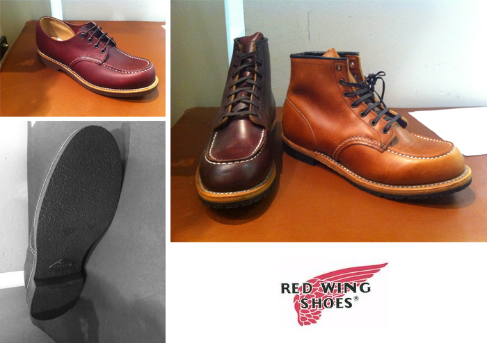 Red WIng Boots - Beckman Moc Toe