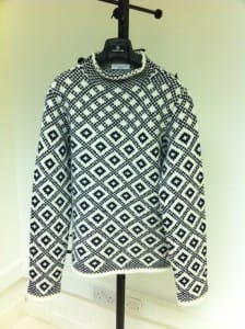 Hand Knitted jumper made in Italy