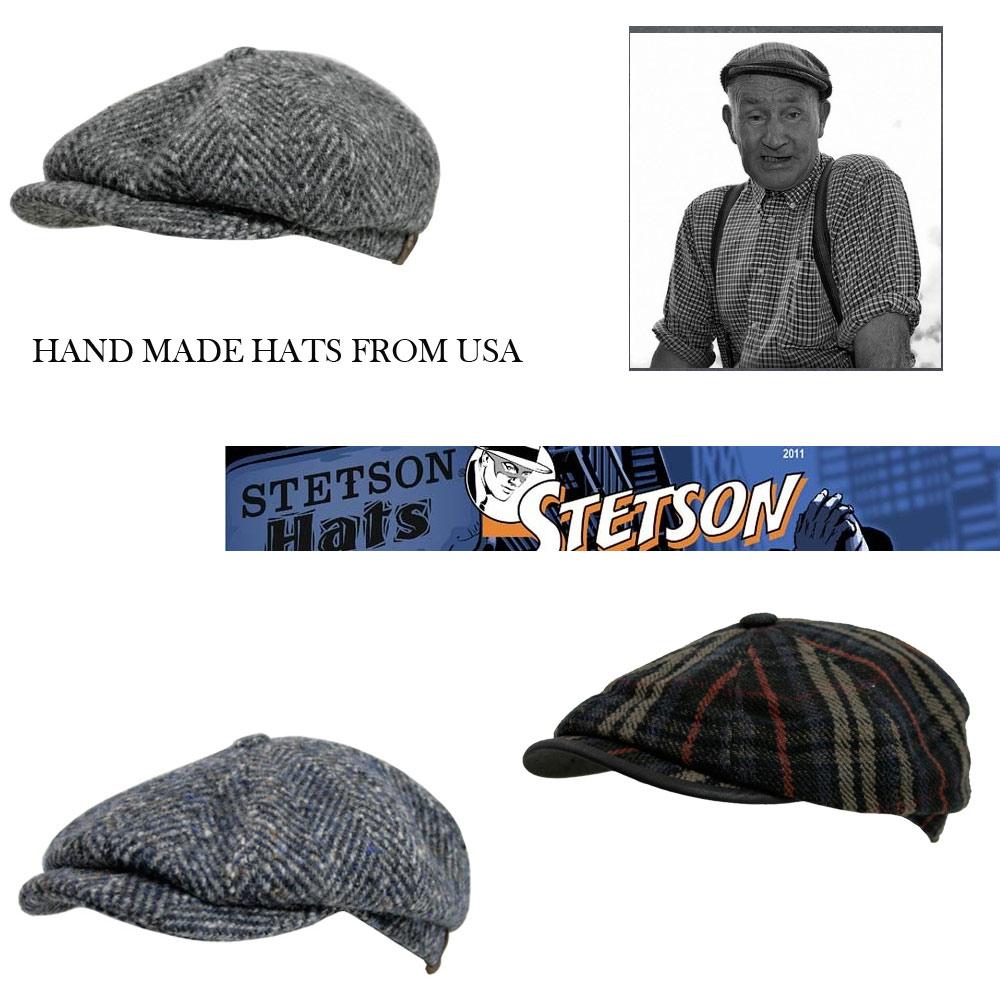hand made tweed hats