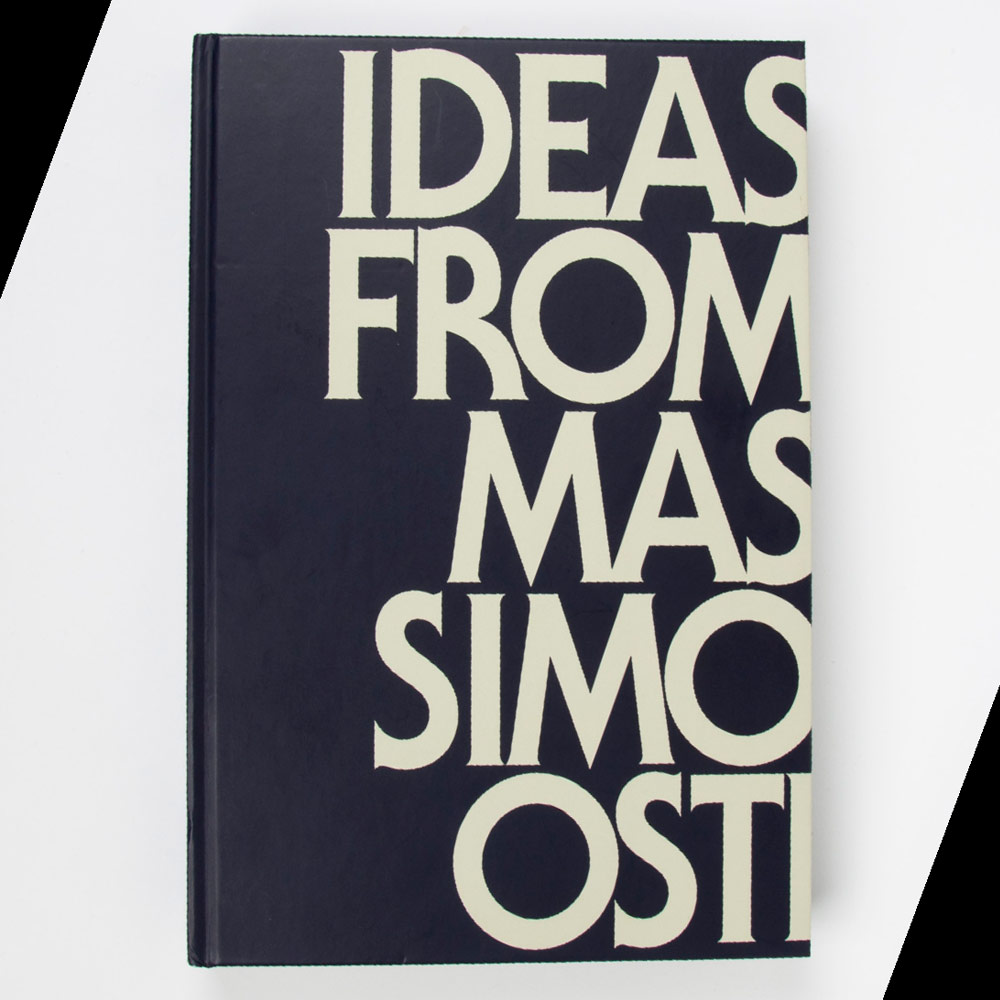 Ideas from Massimo Osti - Due November 2012
