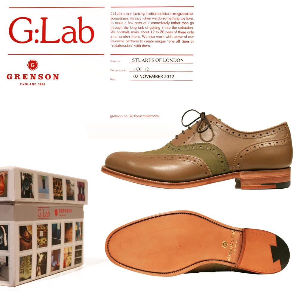 Stuarts London x Grenson Model 1