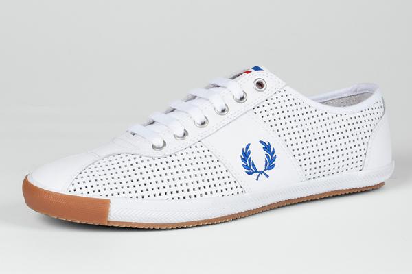 Bradley Wiggins X Fred Perry Mens Footwear