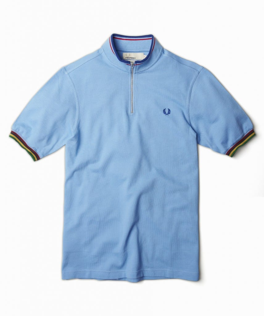 Fred Perry designer Bradley Wiggins Cycle Shirt