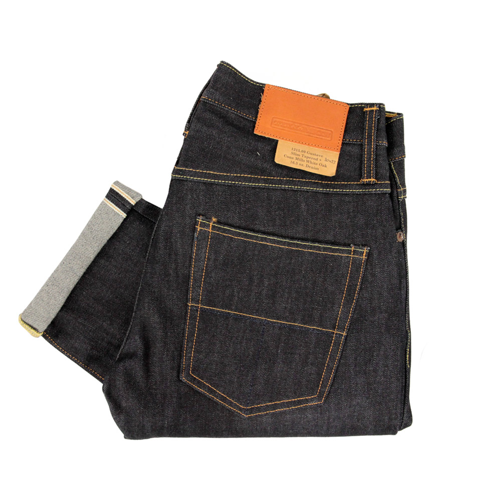 16.75oz Tellason Gustav Jeans at Stuarts London