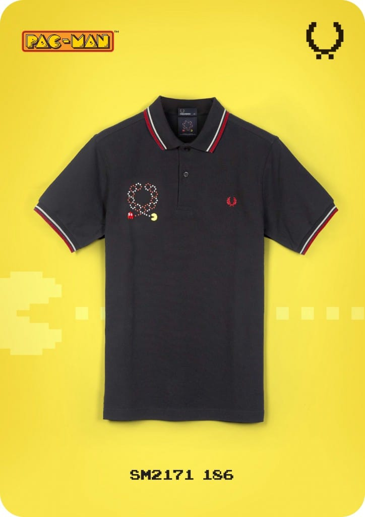 Pac Man and Fred Perry
