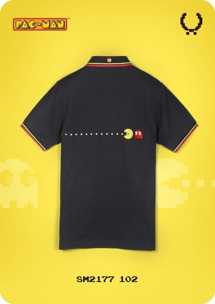 Fred Perry x Pac Man x Ten_do_Ten