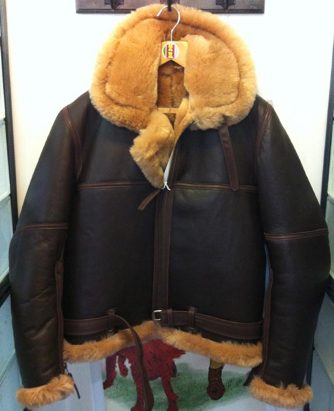 RAF Alexander Sheepskin Pilots Jacket