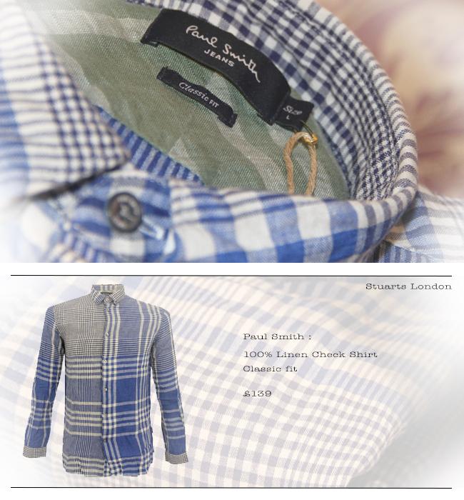 Paul Smith 100% Linen Shirt