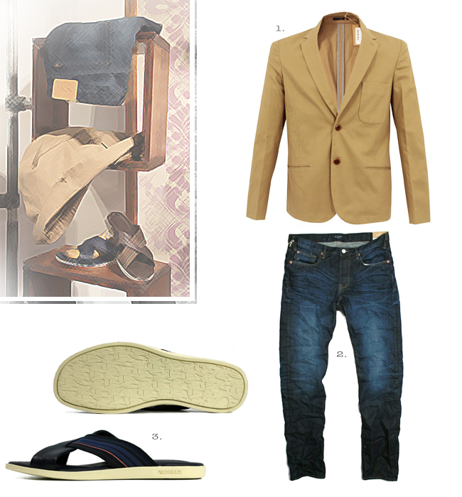 Paul Smith Outfit Idea for Summer 2013