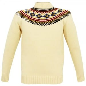 Fred Perry fairisle sweater