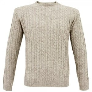 Matinique Cable knit sweater