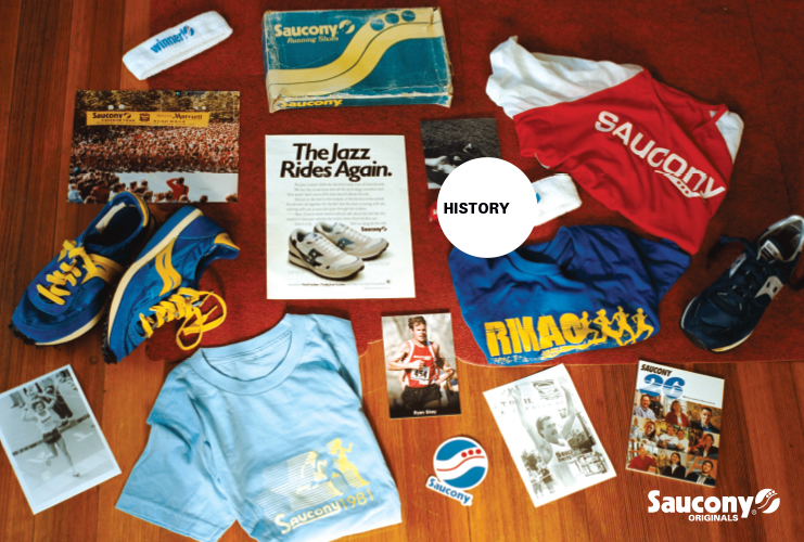 Saucony-History