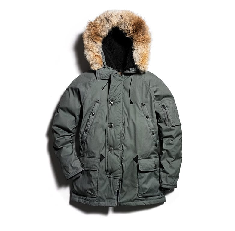 0001-1114711 Stuarts London Snorkel parka