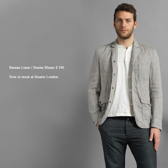 Barena-Denim--Linen-Blazer