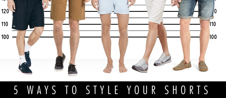 5 Ways to Style your Shorts