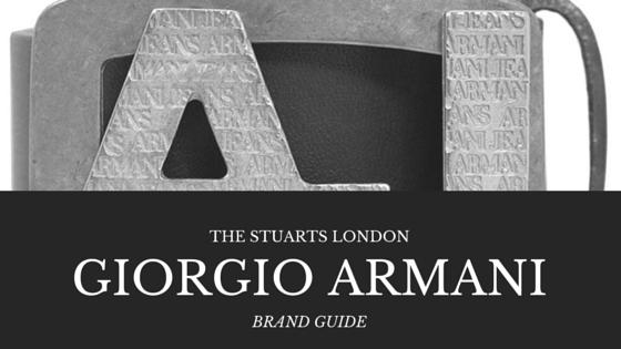 Brand Guide - Armani