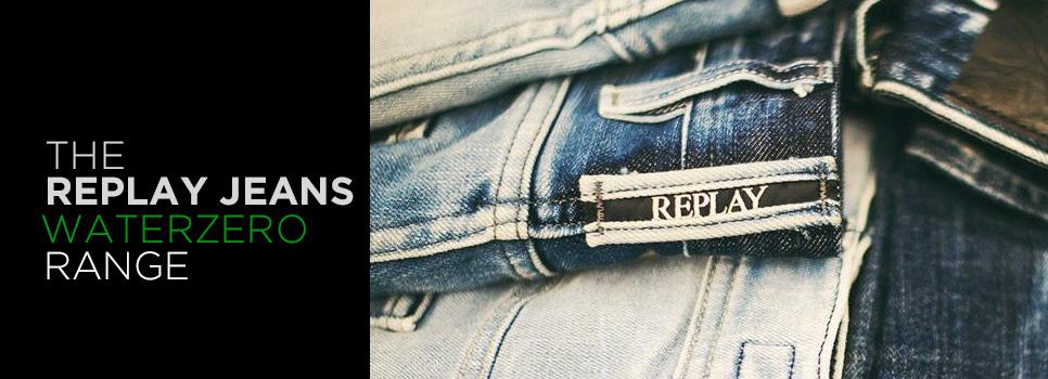 Replay Jeans Waterzero Range