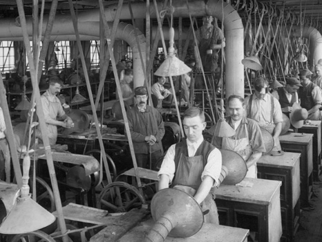 Original Workers At The Stetson Factory