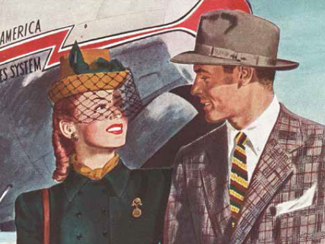 Stetson Hats 1940's Advert