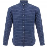 Oliver Spencer Bradley Blue Shirt