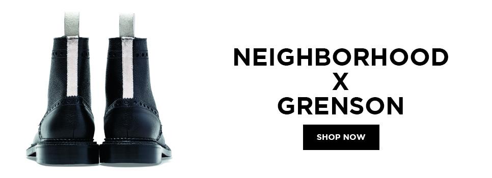Show the Neighborhood X Grenson Collection Now!