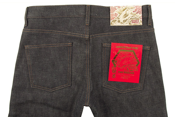 Naked & Famous Denim: Year of the Fire Rooster Denim