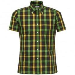Brutus Jamacan Tartan Trimfot Shirt