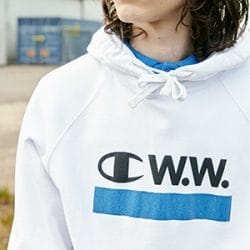 Champion x Wood Wood: Online Today
