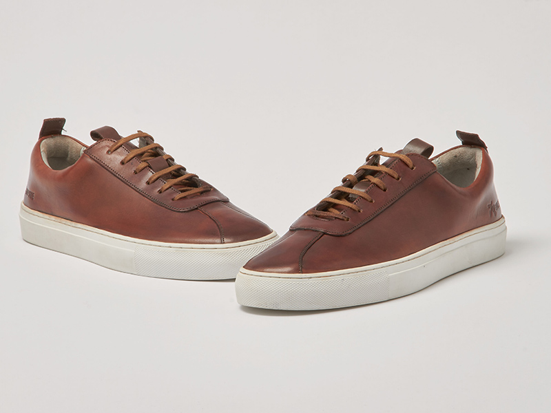Grenson Tan Trainers