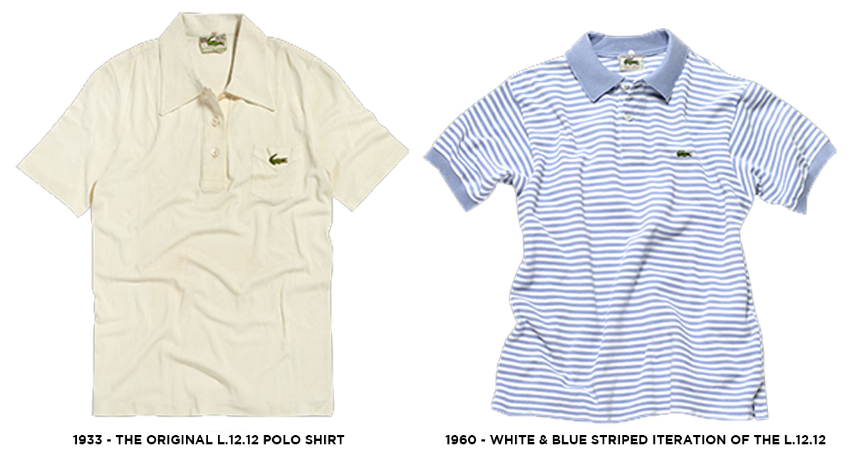 The Lacoste l.12.12 Polo Shirt - 1930's -1960'S